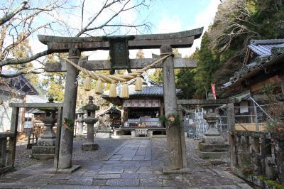 日本最古の天神さん 生身(いきみ)天満宮参拝。参拝後その後南丹市立文化博物館へ。