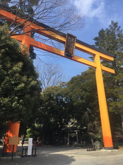 川越氷川神社と大宮氷川神社行ってきました