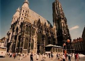 備忘録 ①私がウィーンに単身赴任していた時、家内が訪ねてきてくれました。ウィーン~ザルツブルグ~インスブルック その2