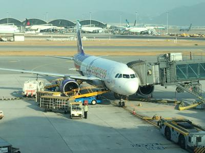 タイ旅行1日目:香港国際空港経由でチェンマイまで
