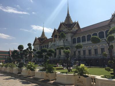 タイ旅行7日目:バンコクで王宮・ワットポー・ワットアルン~アユタヤへ