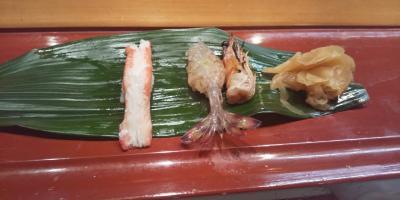 一の坂川沿いの寿司屋デート