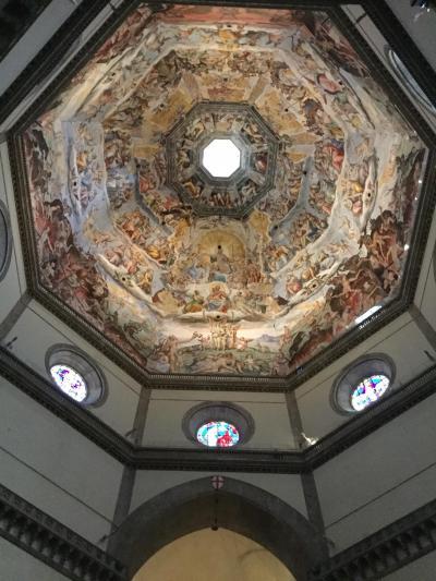 こんな時に初めてのイタリア4  咳が止まらないサンタ・マリア・デル・フィオーレ大聖堂