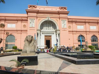 いざエジプトへ・・最終日午前はエジプト考古学博物館♪