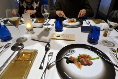 春休みのエクシブ湯河原離宮1泊 イタリア料理 マレッタの夕食