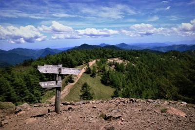 【日帰り登山】夏の雲取山に挑む。