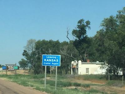 カンザス州 東西に470Kmドライブ走破