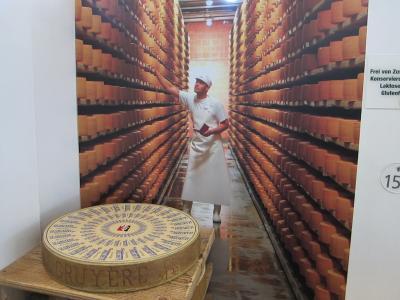 大人の遠足②La Maison du Gruyèreでチーズを学ぶ@ GRUYÈRE*2019/9