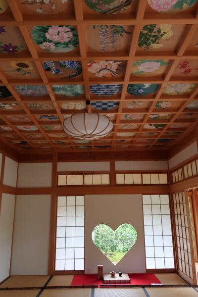 ハートの窓を見に 正寿院