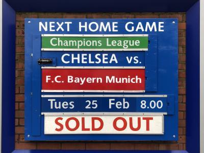 9泊11日 イギリス・ドイツ旅行 ⑤ ロンドン 4日目夜 =CL チェルシー vs F.Cバイエルンミュンヘン=