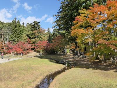 出張ついでに秋の平泉観光 2019