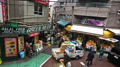 Japan ビーツを買いにイスラム横丁に行ってみた(昨年の話です)