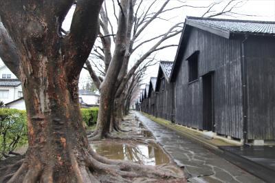 米どころ庄内のシンボル山居米倉庫