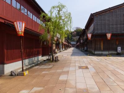 石川県金沢市◆ひがし茶屋街◆2020/04/××