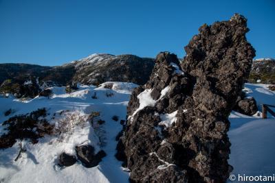 冬の北八ヶ岳ロープウェイ