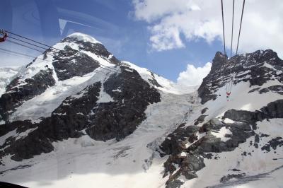 アルプス5大名峰と絶景列車の旅 14 ツェルマットからクラインマッターホルンへ(トロッケナーシュテークからクラインマッターホルン間)②