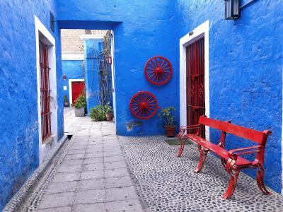 ◆ペルー 女ひとり旅◆⑨アレキパ歩き(サンタ・カタリナ修道院/Canteras de Sillar)
