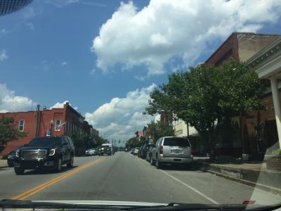 ケンタッキー州 ローレンスバーグ - ダウンタウン