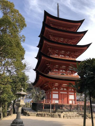 初めての中国地方3 宮島・厳島神社・大願寺