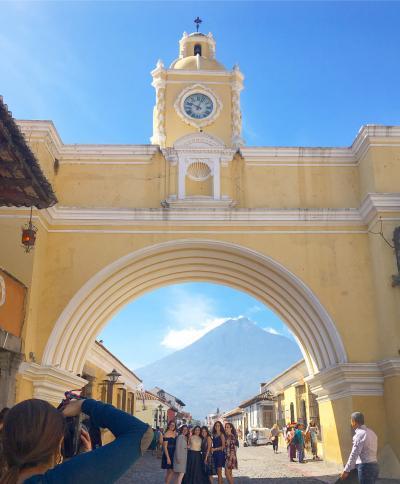 グアテマラシティ⇒アンティグアの日帰り観光