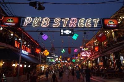 #4パブストリートの夜
