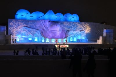 2020年北海道雪まつりの旅2日目 第61回旭川冬まつり  後編