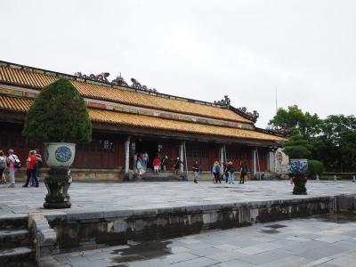 2019.11 ベトナムへ行ってみよう(5)古都フエを観光・広大な阮朝王宮を散策しよう