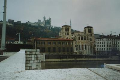 1992年フランス第二の都市リヨンを訪ねる
