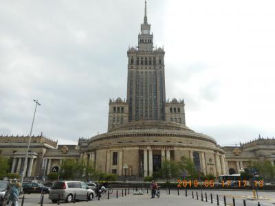 ポーランドの首都「5月のワルシャワ」(その1)