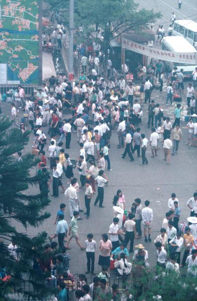 回顧録 1991年香港・中国旅行&調査 その2 香港から陸路で広州へ