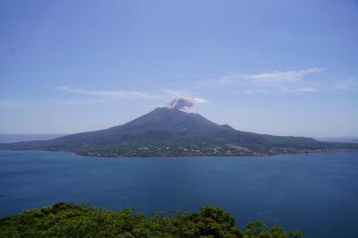 20200422-1 鹿児島 吉野公園まで、桜島の勇姿を眺めに