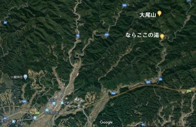 密集地を避けて大尾山(おびさん)をハイキング(1/3)「ならここの里」は掛川の北部にあった