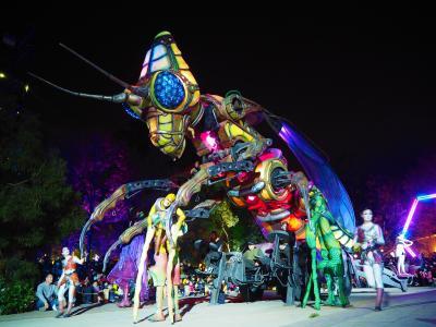 3泊5日台湾一人旅(4)台湾2日目の夜は【台湾燈會2020】ランタンフェスティバルを楽しんできました