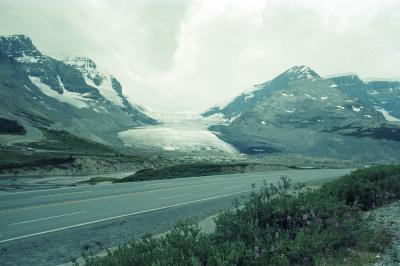 Athabasca Glacier, 1979.