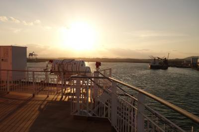 20200423-2 志布志から大阪へ さんふらわフェリーは、新造船きりしま