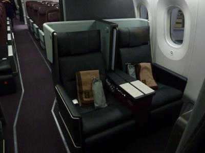 2020年1月 JL102 伊丹(ITM)-羽田(HND) B787-8搭乗記