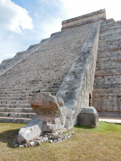 2016年 ワンワールドビジネスクラス世界一周航空券での27日間地球一周一人旅6 メキシコ編  その2 チチェン・イツァ遺跡観光