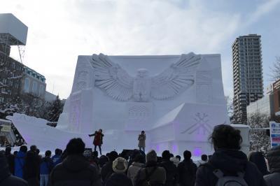 2020年北海道雪まつりの旅3日目 第71回さっぽろ雪まつり  前編