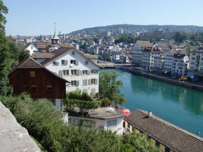 2019夏のスイス旅【57】チューリッヒ散策