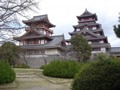 伏見桃山城運動公園へ行ってみた (2020年2月)