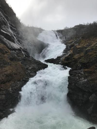 混乱の10連休、北欧の美しい自然と街巡りの旅:スウェーデン、ノルウェー旅行【16】(2019年GW 5日目② 絶景!フロム鉄道の旅)