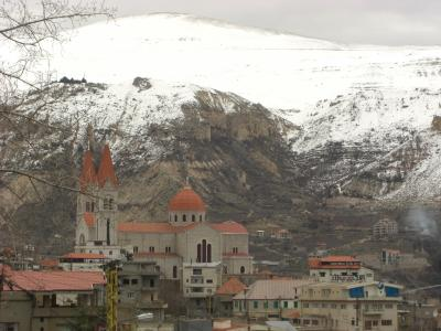 世界一周の思い出 レバノン②天空の村ブシャーレへ