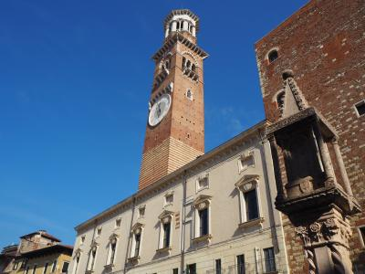 古代ローマ、コムーネ、スカラ家統治時代と歴史の積み重ねのある街、ベローナ