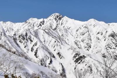 冬の遠見尾根(北アルプス)夜行バスで行く日帰り雪山登山
