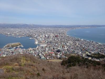 函館山(函館旅行10) 2020.3.31