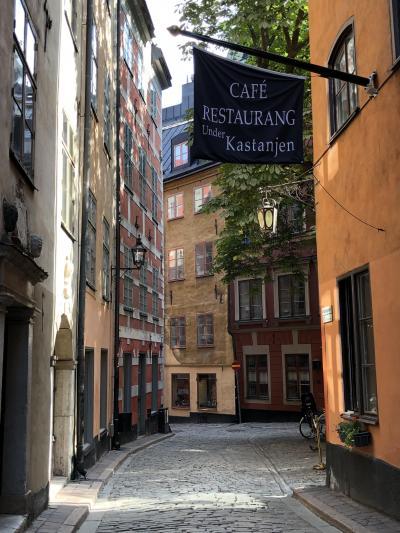 ヒュッゲの国デンマーク&フィーカの国スウェーデン9日間⑨ストックホルム街歩き!朝のガムラスタン~王宮~エステルマルム~エリックスゴードーレン