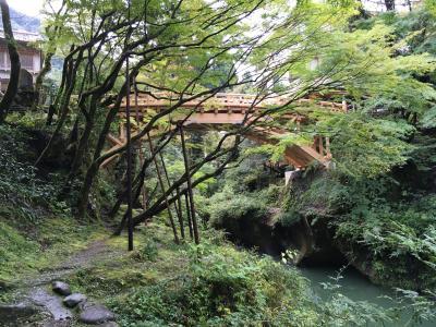 2019年10月、加賀国巡り②鶴仙渓と大聖寺城趾を巡り、粟津温泉で疲れ癒やす