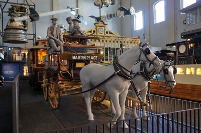 オーストラリア シドニー パワーハウスミュージアム(その2 馬車・自動車・蒸気機関等)