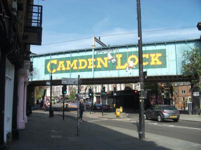 春のロンドン・リージェンツ運河散歩(キングスクロス~カムデンロック)
