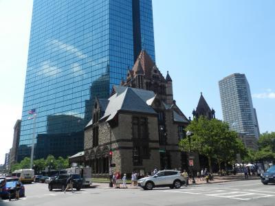 ボストン市内街歩き/ボストンコモン・コプレー広場等◆ボストン・ナイアガラ・プリンスエドワードの旅《その5》